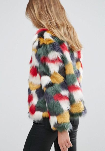 Faux Fur - die perfekte Winterjacke