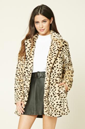 Leopardenprint - die perfekte Winterjacke