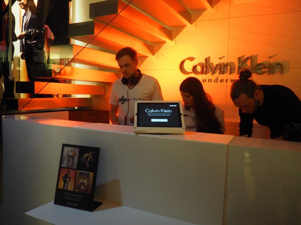 Calvin Klein Underwear Event