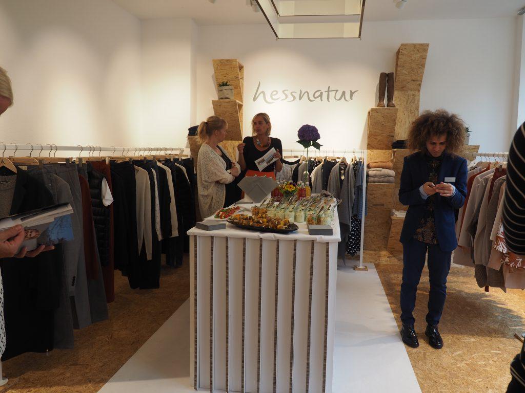 hessnatur Pop-Up Store Opening