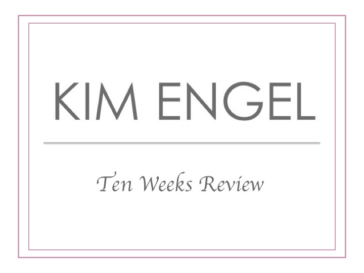 Ten Weeks KIM ENGEL - Review