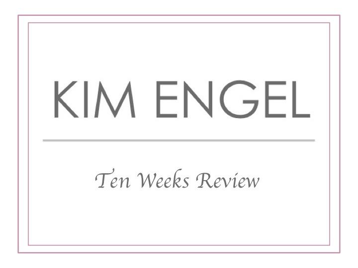Ten Weeks KIM ENGEL - Review