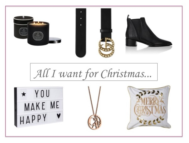 All I want for Christmas… - New Blogpost