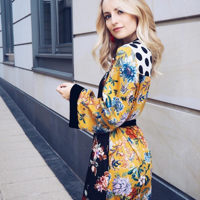 Fell in love with this Kimono Good night loves bloggedhellip