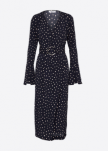 Trendreport: Polka Dot Wickelkleid - KIM ENGEL