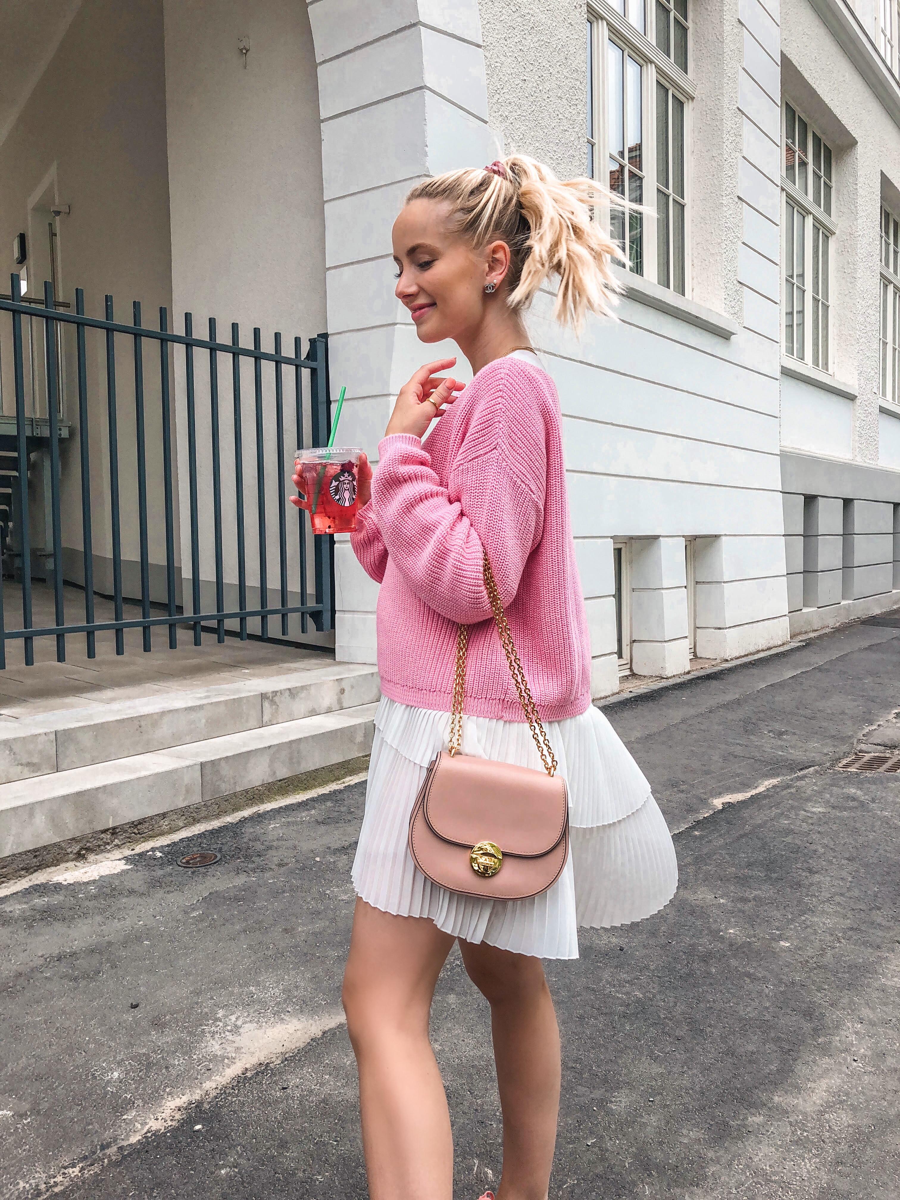 Sommerkleid mit Pinktönen - KIM ENGEL
