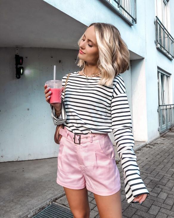 Stripes with shiny Pink - KIM ENGEL