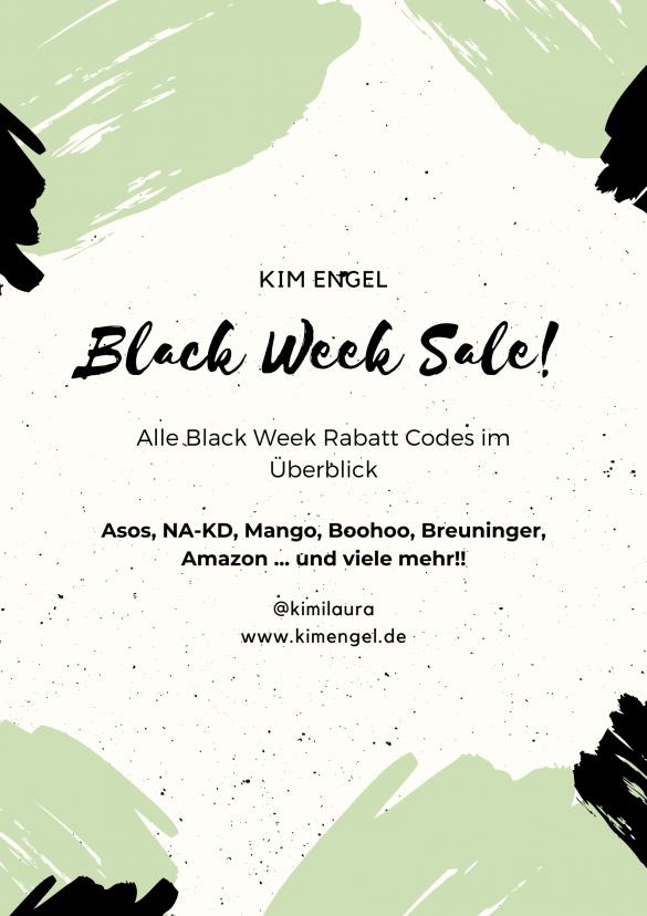 Cyber Week 2019 - alle Rabatt Codes im Überblick - KIM ENGEL