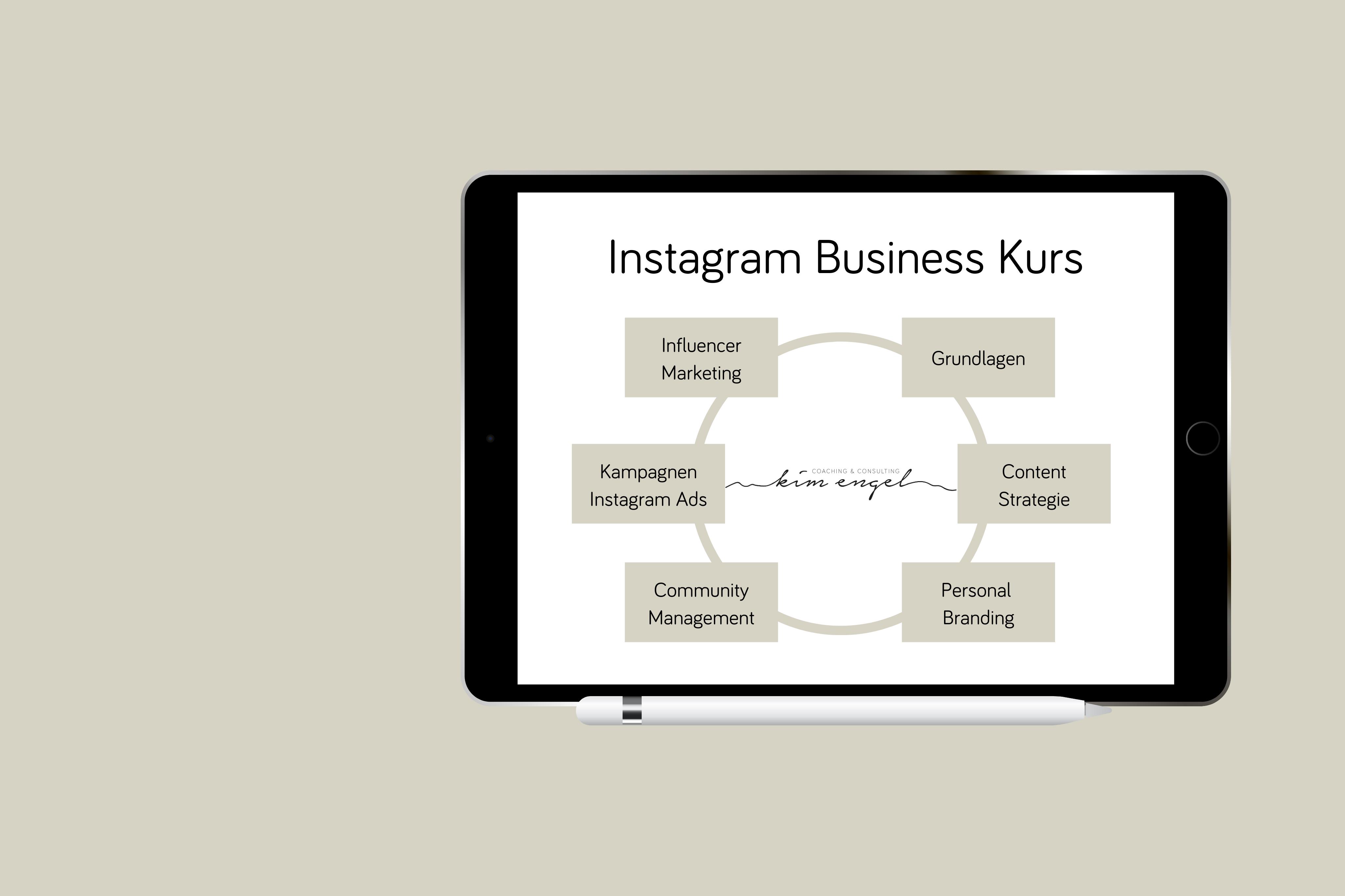 Instagram Business Kurs