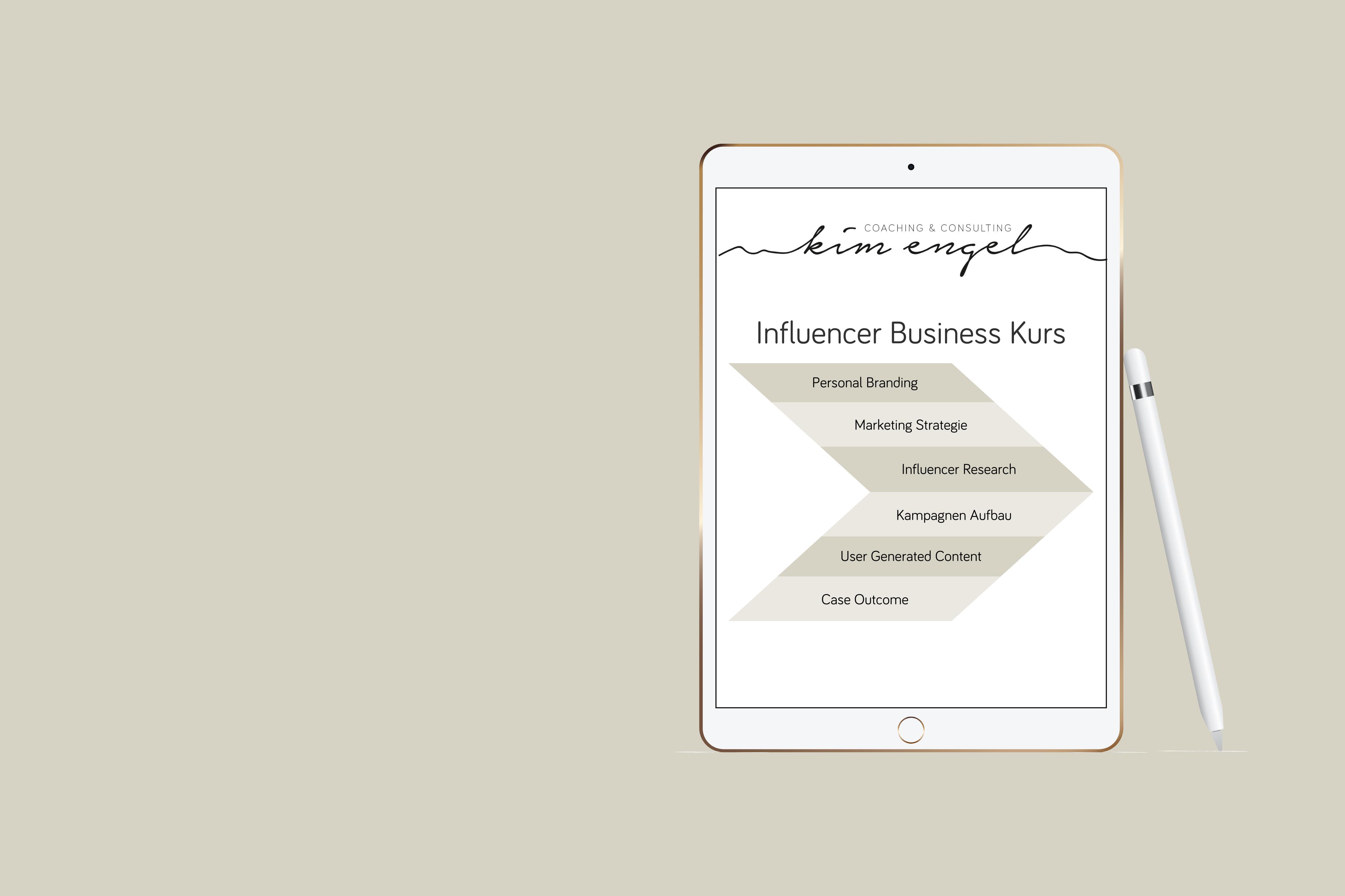 Influencer Business Kurs